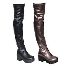 womens knee high boots size 11 block knee boots size 11 for ebay