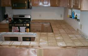 Kitchen Counter Tile - kitchen marvelous rustic tile kitchen countertops rustic tile