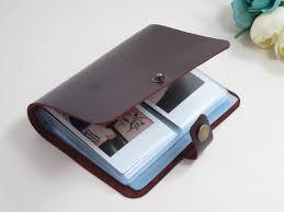 custom leather photo albums custom fujifilm instax album instax photo album for travel