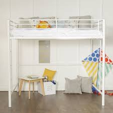 amazon com canwood lakecrest loft bed white kitchen u0026 dining