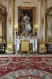 glamorous decorating interior of buckingham palace in majestic