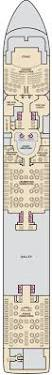 Carnival Breeze Floor Plan by Carnival Fantasy Carnivalcruiseline De