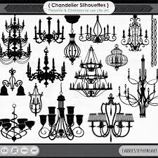 Black Chandelier Clip Art Chandelier Clip Art Png Silhouettes U0026 Photoshop Brushes