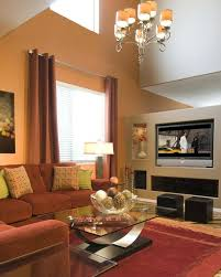 orange livingroom 30 elegant living room colour schemes renoguide