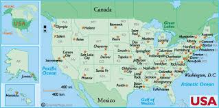 map of america with cities map of america and states arab world states political map with