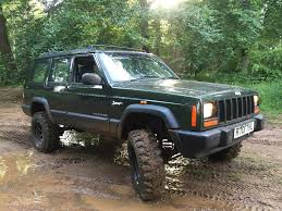 jeep cherokee 2 5 td manual xj 4x4 off road green laning in bury
