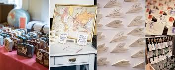 mariage voyage voyage wedding theme recherche ideas decorations