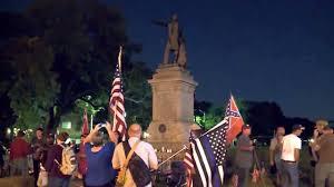 Nola Flags Clash With Antifa Scum At Confederate Monument In New Orleans