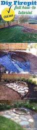 Fire Pit Ideas Pinterest by Building A Stacked Stone Fire Pit Firepit Best Pits Ideas On