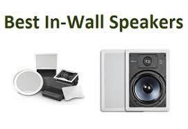 In Wall Speakers Vs Bookshelf Speakers Top 10 Best In Wall Speakers In 2017 U2013 Ultimate Guide Techsounded