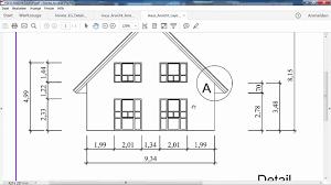 Haus Anzeige Autocad 2016 Haus Ansicht Und Details Teil 3 Haus Youtube
