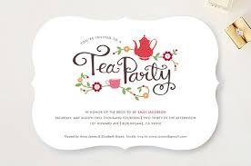 templates classic tea party bridal shower invitation wording