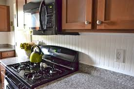 Beadboard Pvc - kitchen beadboard backsplash liz marie blog pvc kitchen dsc
