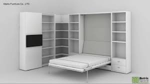 matrix space wall bed murphy bed space saving furniture youtube
