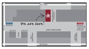 map of penn station pret a manger opens in penn station today w free stuff