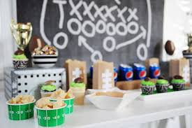 football party ideas football party ideas great ideas for the big pink