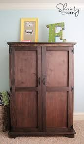 cheap tv armoire ana white toy or tv armoire drawer insert diy projects