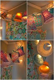 Lamp Shades Diy Easy Diy Lamp Shades On A String The Diy Adventures