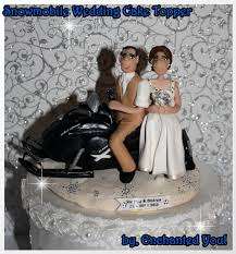 snowmobile wedding cake topper 28 images snowmobile wedding