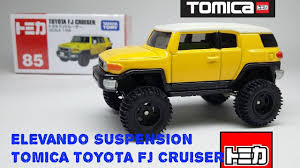 tomica toyota tomica custom elevando suspension tomica toyota fj cruiser youtube