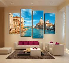 Living Room Art Sets Wall Art Amusing 4 Piece Artwork Mesmerizing 4 Piece Artwork