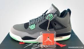 green glow 4 air 4 retro green glow new images sole collector