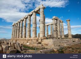temple of poseidon greek god of the sea mythology cape sounion