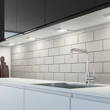 warm white led under cabinet lighting sensio dimmable sls led under cabinet spotlight pad warm white