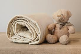 Wool Filled Duvet Crib Duvet Baby Toddler Bedding Organic Wool Filled