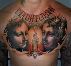 chest tattoos and designs page 588
