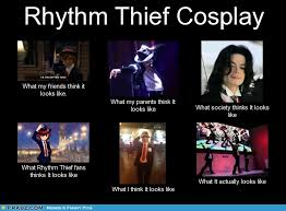 What People Think Meme - rhythm thief what people think meme by dothackeryggdrasil on