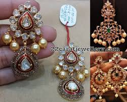 pachi earrings diamond pendant pachi work earrings diamond pendant pendants