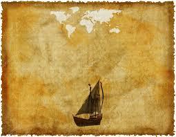 Old World Map by Old World Map On Grunge Retro Paper U2014 Stock Photo Alperium 1145647