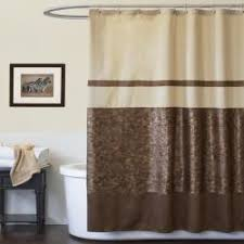 Green And Brown Shower Curtains Brown Shower Curtains Interior Design