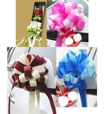 pull bows 1 5meter 59inch two tone pull bows ribbons flowers gift wrapping