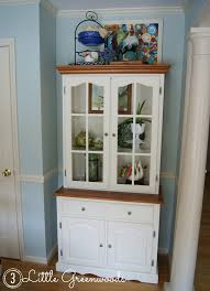 updated kitchen hutch