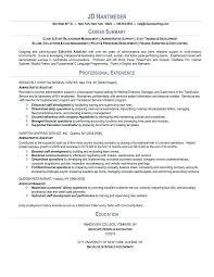 summary for resume exles skills summary resume exle passionative co