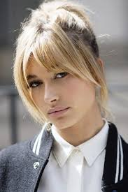 haircuts and bangs 36 times hailey baldwin s hair makeup stole the show hailey