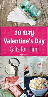 Homemade Valentine Gifts by 10 Diy Valentine U0027s Day Gifts For Him Tip Junkie