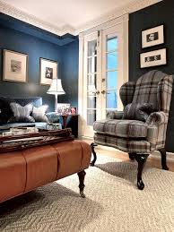 Leather Living Room Decorating Ideas by Best 25 Plaid Living Room Ideas On Pinterest Country Family