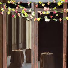 garlands for weddings diy fresh flower garlands martha stewart weddings