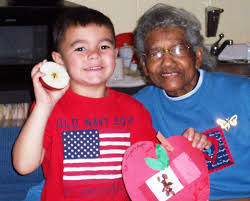 apple crafts with kids generations elder care