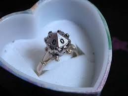 geeky engagement rings 23 adorkable wedding rings for geeks in