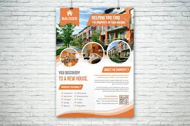 Real Estate Poster Template by Real Estate Flyer Flyer Templates Creative Market