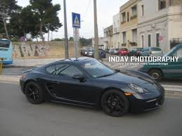 porsche prototype porsche cars news 718 cayman spotted driving around italy