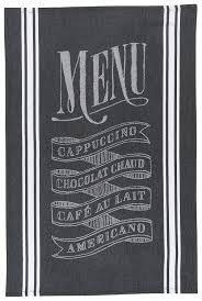 amazon com now designs tea towel chalkboard jacquard home u0026 kitchen