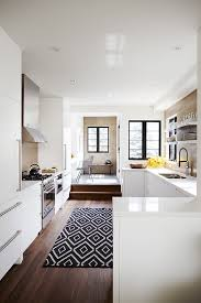Area Rug Black And White Black And White Area Rugs Kitchen Transitional With Black And