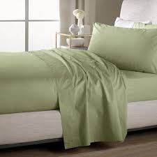 sweet home sheets sweet home collection ultra soft flat bed sheet set color sage