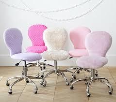 pink furry desk chair kids desks kids desk chairs kid desks pottery barn kids
