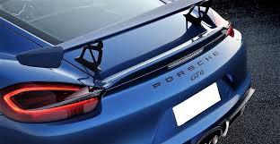 ebay porsche cayman porsche 718 986 987 981 cayman gt4 style abs rear spoiler wing oem